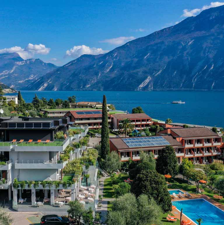hotel with a view Lake Garda