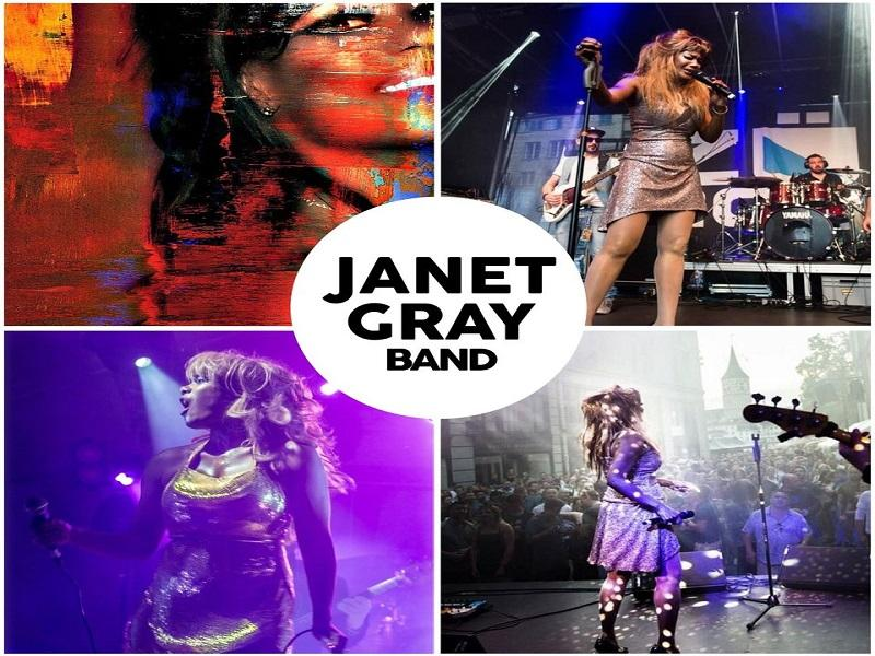 Concerto Janet Gray Band
